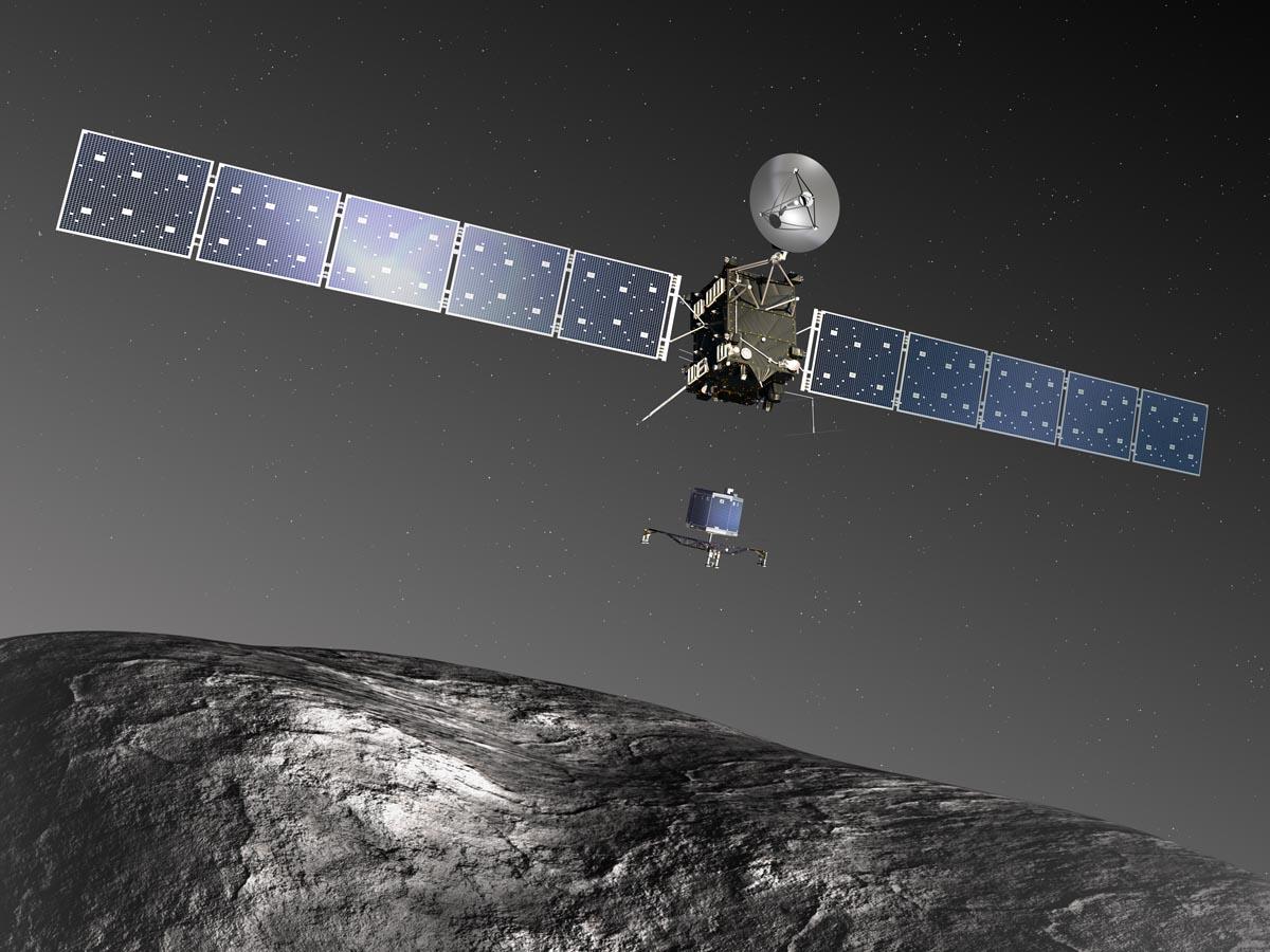 Миссия «Розетта»: путешествие к комете Чурюмова Герасименко глазами первооткрывателя кометы