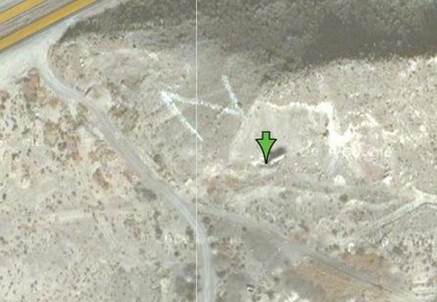 Мистические места на Google Maps