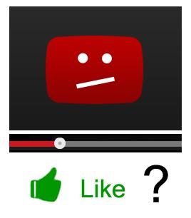 Мне и ещё 103045 человек нравится видео, которое я не смотрел