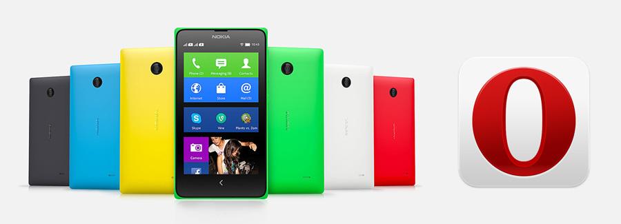 Мобильная Opera на платформе Nokia X