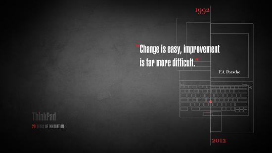 Модельному ряду ThinkPad исполнилось 20 лет