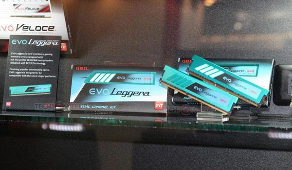 Модули GeIL EVO Leggera поддерживают XMP