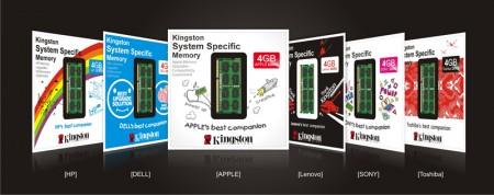 Модули памяти Kingston System Specific