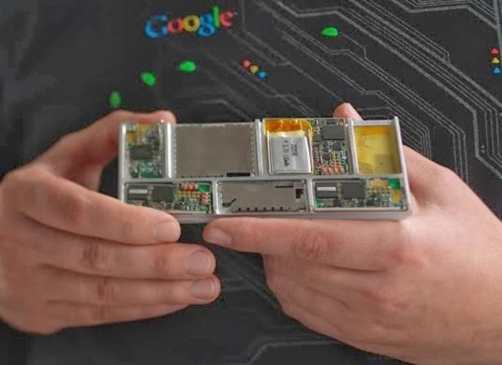 Модульный смартфон Google «Project Ara» поступит в продажу в 2015 году