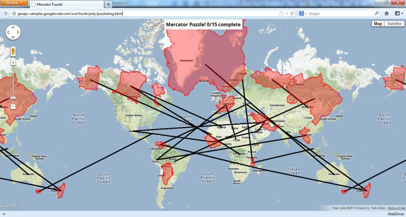 Можно ли автоматически разгадать головоломку Mercator от Google?