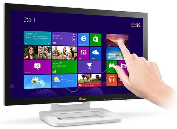 В дисплее LG Touch 10 используется панель типа IPS