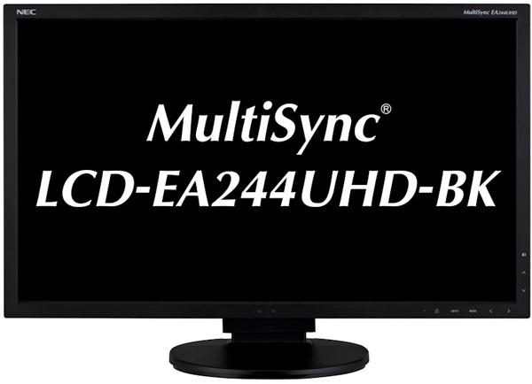 NEC MultiSync LCD-EA244UHD-BK