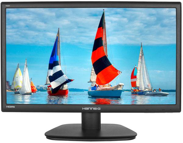 Несмотря на разницу в размерах, экраны мониторов Hannspree HS221HPB, HS241HPB и HS271HPB имеют одинаковое разрешение