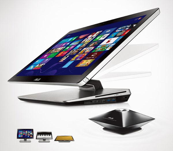 В оснащении моноблока Asus ET2301 можно выделить адаптер 802.11ac Wi-Fi, порты USB 3.0 и Intel Thunderbolt