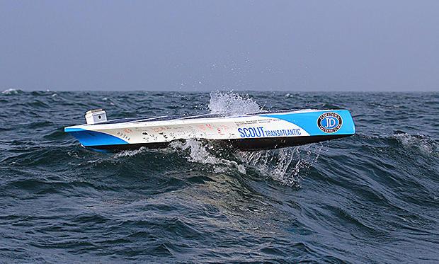 Морской робот Scout проплыл самостоятельно более 1600 километров