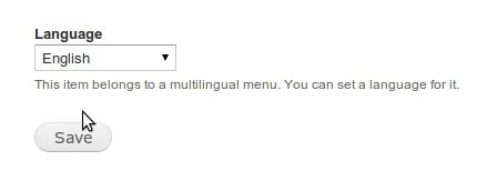 Мультиязычность в Drupal 7. Меню