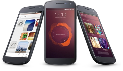 На CES 2013 показан Samsung Galaxy Nexus с Ubuntu Phone OS