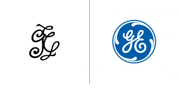 На что были похожи логотипи компаний прежде, чем они сталы известны