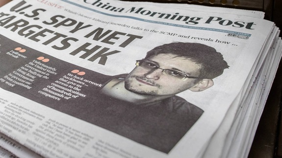 На Эдварда Сноудена завели уголовное дело за шпионаж