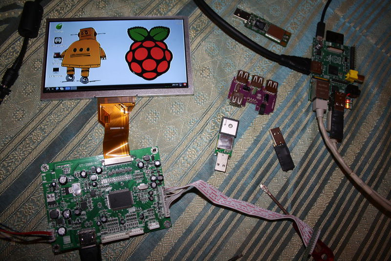 На основе Raspberry Pi сделали полноценный нетбук (+ идея проведения конкурса)