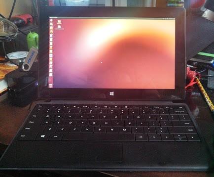 На планшет Surface Pro от Microsoft поставили Ubuntu