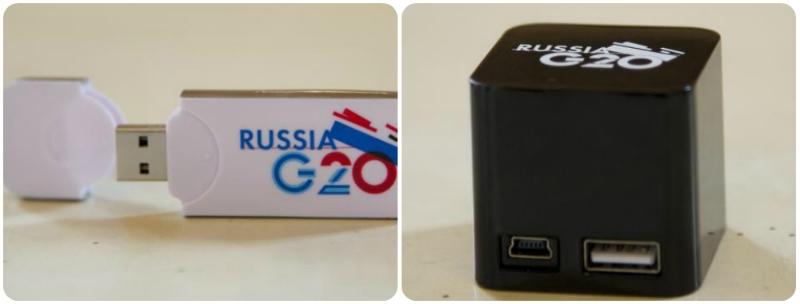 На саммите G20 Россия дарила дипломатам флешки с «закладками»