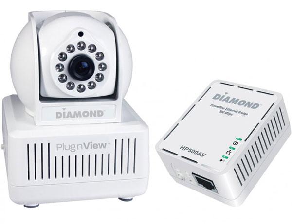 Камера из набора Diamond Multimedia PlugnView оснащена подсветкой