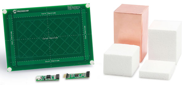 Основой набора Microchip Hillstar Development Kit служит контроллер Microchip MGC3130