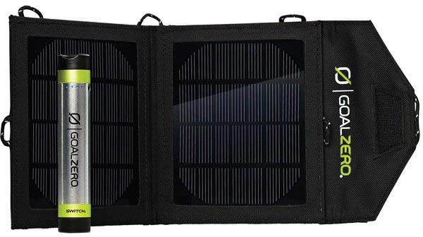 Цена Goal Zero Switch 8 Solar Recharging Kit — $120