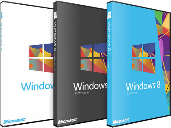 Обновление Windows XP, Windows Vista или Windows 7 до Windows 8 Pro стоит $40