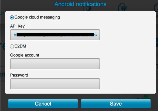 Начало работы с Push Notifications в PhoneGap