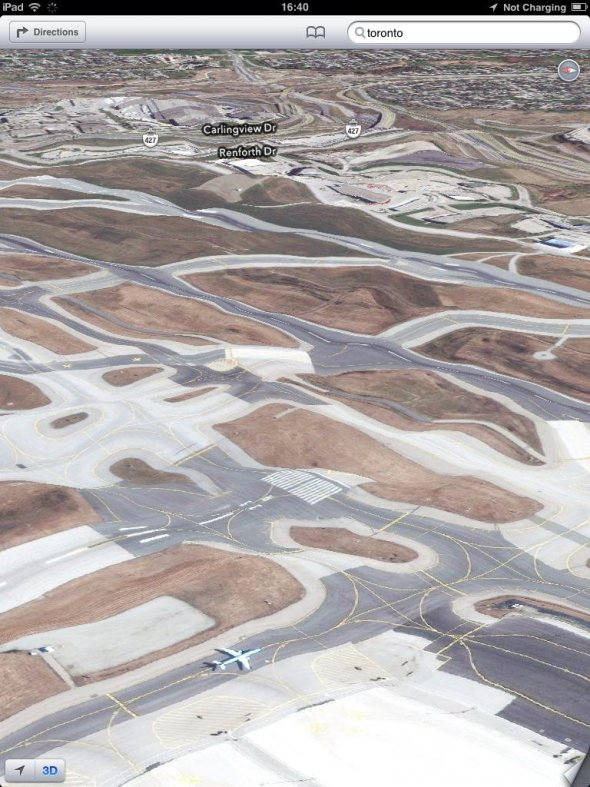 Над проектом Google Maps работает 7100 сотрудников