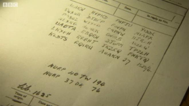 Найдены останки голубя с криптограммой Второй мировой войны