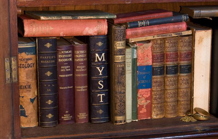 Настоящая книга Myst
