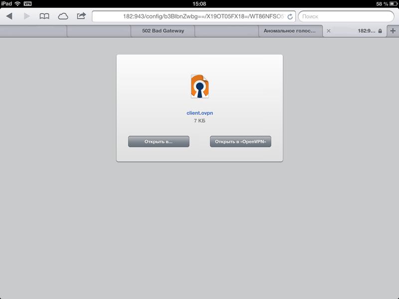 Настраиваем OpenVPN на Linux Servere с авто подключением iOS устройств за 5 минут