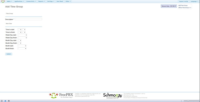 Настройка Asterisk 1.8 + FreePBX 2.10 с нуля