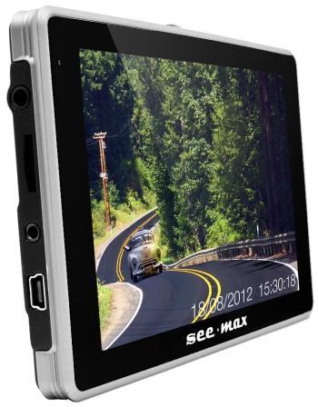 Навигатор с видеорегистратором SeeMax Navi E540 HD DVR