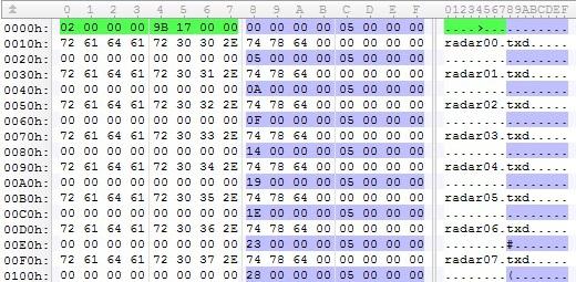 Навыки написания шаблонов и работы в hex-редакторе 010