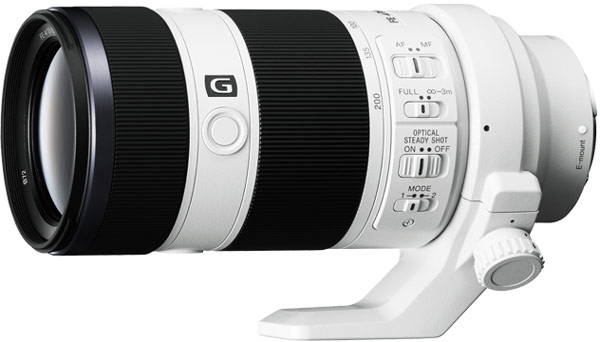 К достоинствам объектива Sony FE 70-200mm F4 G OSS можно отнести съемную опору для установки на штатив