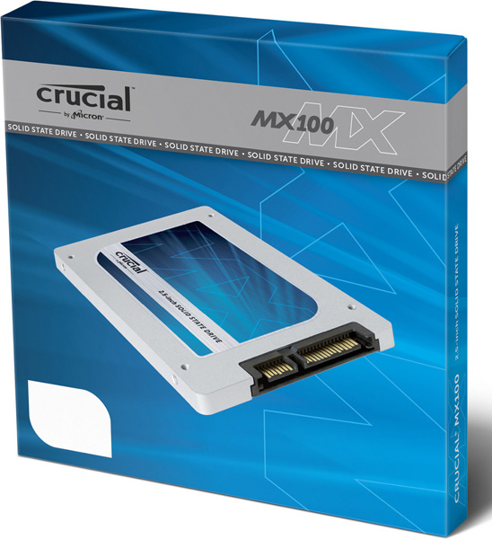 SSD Crucial MX100