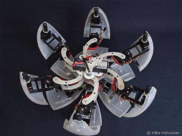 Необычная конструкция робота MorpHex