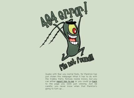 Несколько примеров креативного подхода при создании «Error 404» страниц