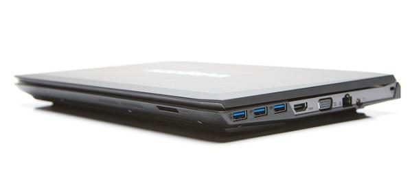 Ноутбук Eurocom M4 оснащён дисплеем диагональю 13,3 дюйма разрешением 3200 x 1800 пикселей (QHD+)