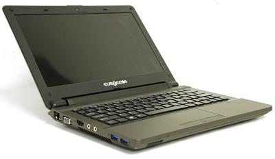 Ноутбук Eurocom Monster 1.0 с экраном размером 11,6 дюйма на процессоре Intel Core i7-3820QM оснащен 3D-картой NVIDIA GeForce GT 650M