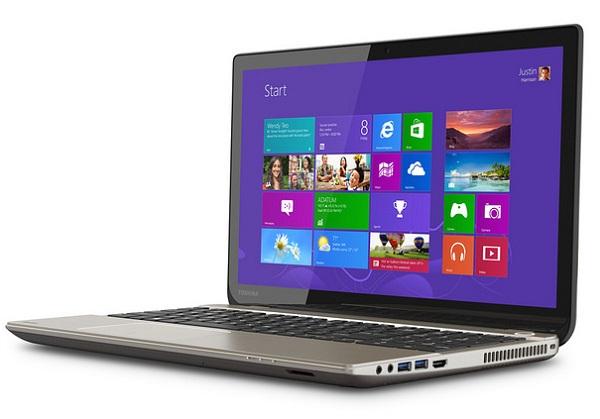 Ноутбук Toshiba Satellite P55t получил 15-дюймовый дисплей разрешением 3840 x 2160 пикселей (4K Ultra HD)
