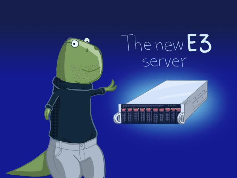 Новая конфигурация выделенных серверов