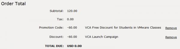 Новая сертификация от VMware — VCA (VMware Certified Associate) бесплатная сдача