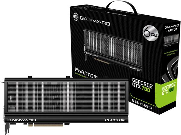 К достоинствам 3D-карты Gainward GeForce GTX 780 Phantom с 6 ГБ памяти относится восьмифазная подсистема питания