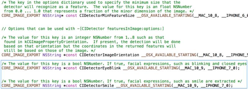 Новое API в iOS 7 позволит разработчикам распознавать улыбки и моргания на фотографиях