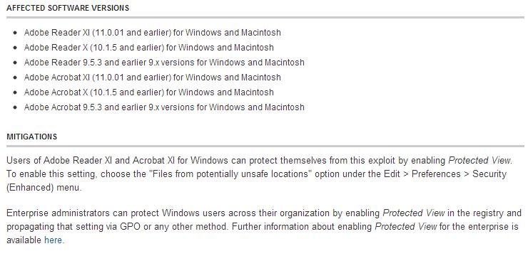Новые Adobe 0day уязвимости эксплуатируются злоумышленниками
