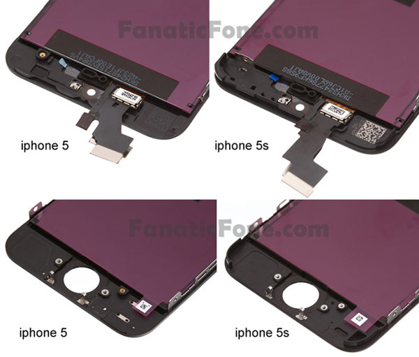 Новые изображения подтверждают, что между смартфонами Apple iPhone 5 и iPhone 5S почти не будет внешних различий