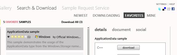 Новый навигатор по примерам кода Microsoft All In One Code Framework, MSDN, Windows 8 и многое другое