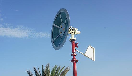 Новый тип ветрогенератора производит электричество без лопастей