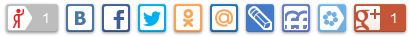 Нюансы использования API от AddThis и Ya.share