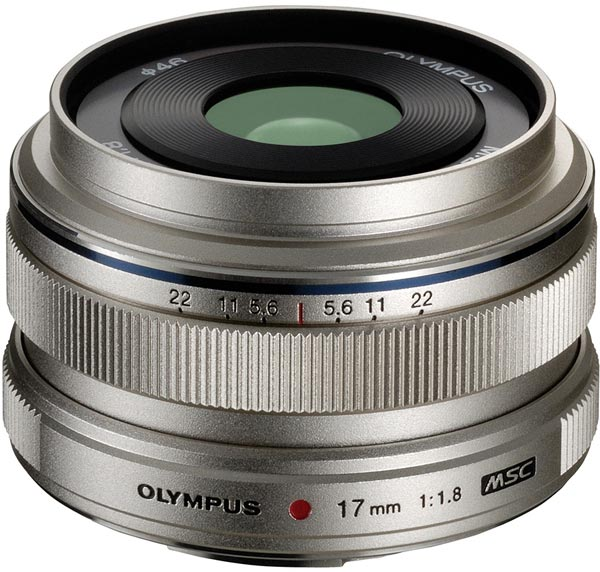 Объектив Olympus M.Zuiko Digital 17mm f1.8 системы Micro Four Thirds оценен в $500